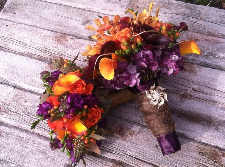 Warm and Earthy Fall Wedding Bouquets...i think i'm having  fall wedding in the Spring! :o)