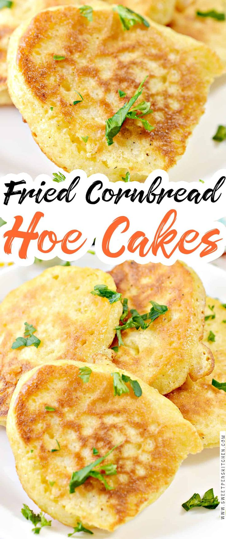 Fried cornbread hoe cakes recipe in 2020 hoe cakes