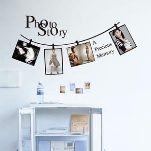 Creative Photo Frame Bedroom Background Wall Sticker - GULLEITRUSTMART.COM