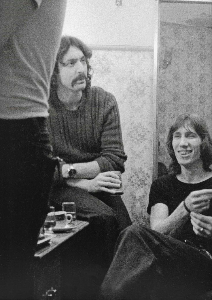 Nick Mason and Roger Waters, Pink Floyd