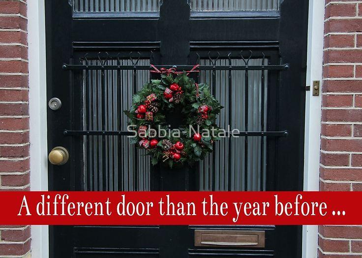 A Different door .... Christmas New Address Announcement
