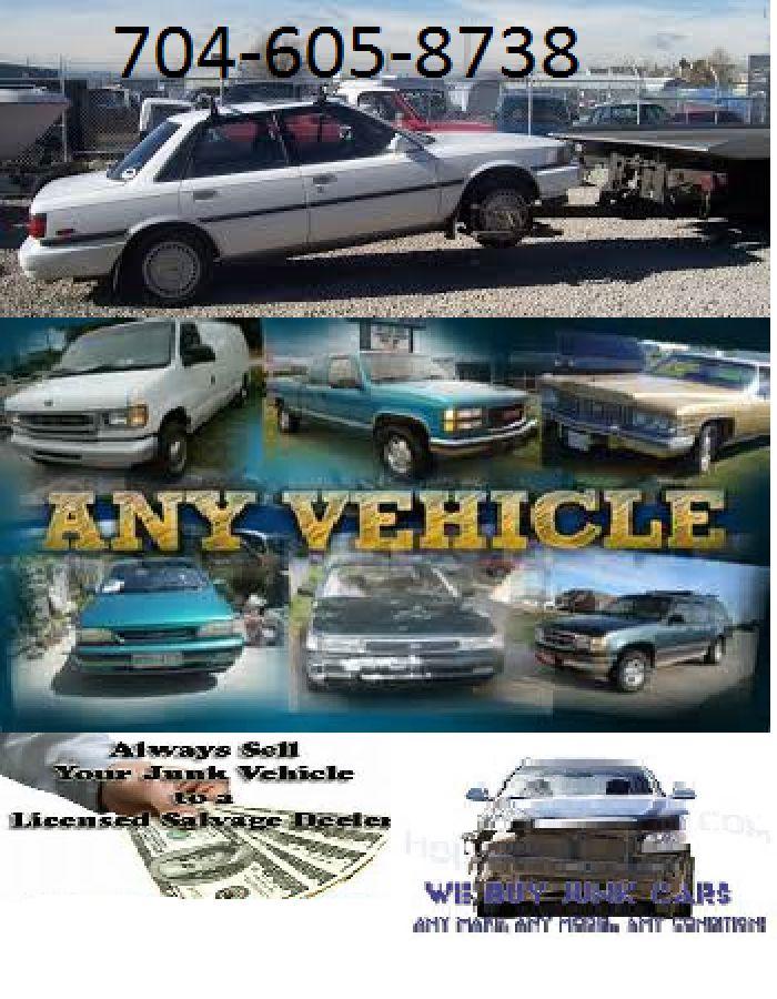 22 mejores imágenes sobre 704 605-8738 Cash For Junk Autos Deal ...