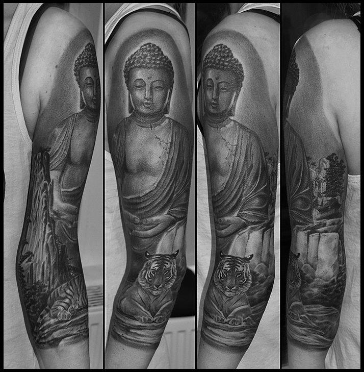 Buddha 3/4 sleeve....