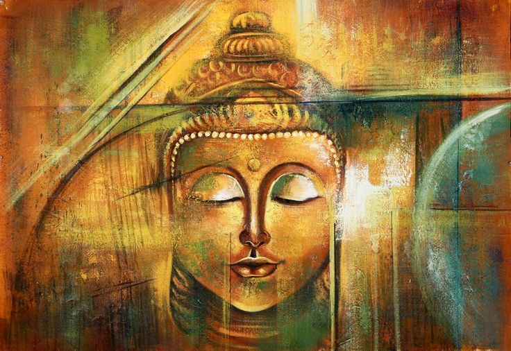 Buy Contemplation - Buddha Meditates 5 by Community Artists Group@ Rs. 6990. Code:ACHMER40_3524 - Shop Art Paintings online in India.