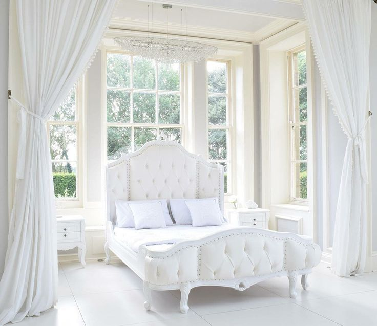 Gorgeous white bed