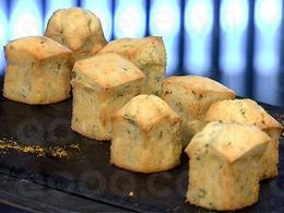 Mini muffins gouda estragon