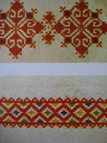 Birds of Ohio: Yugoslavian/Croatian Folk Embroidery