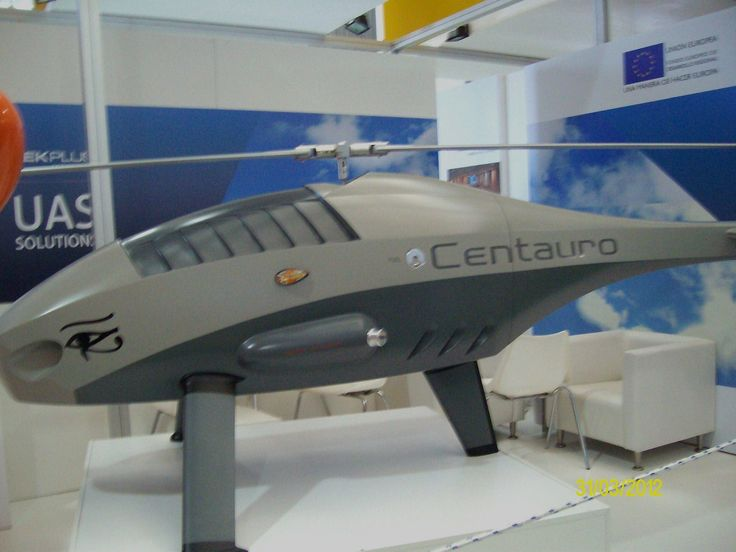 Centauro unmanned aerial system from Tekplus Company spain