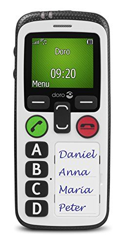 Doro Secure 580 Sim Free Mobile Phone with Isolated User Protection - White - http://www.computerlaptoprepairsyork.co.uk/mobile-phones/doro-secure-580-sim-free-mobile-phone-with-isolated-user-protection-white