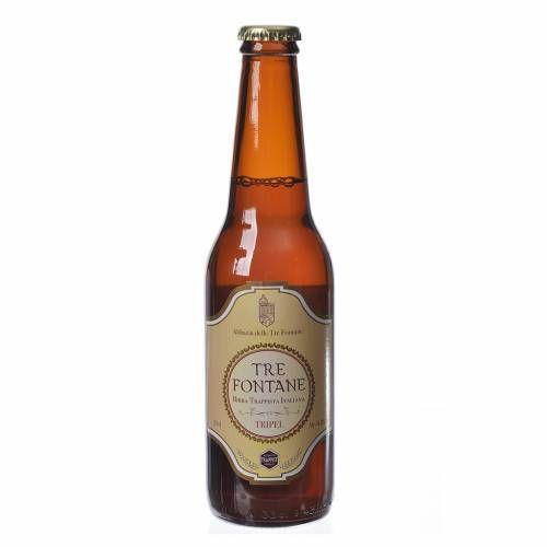 Cerveza Trapista monjes de 'Tre Fontane' 33 cl   venta online en HOLYART