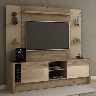 Priebe Entertainment Center For Tvs Up To 75 Inches In