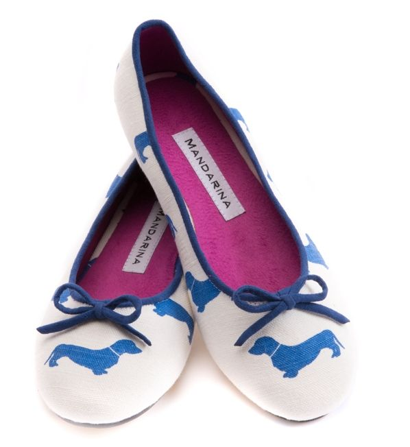 Love these dachshund ballet flats from Mandarina! #dogs