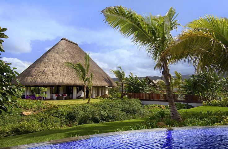 Relax in your bungalow, in the swimming-pool or on the beach @ SO Sofitel Mauritius Hotel #Mauritius