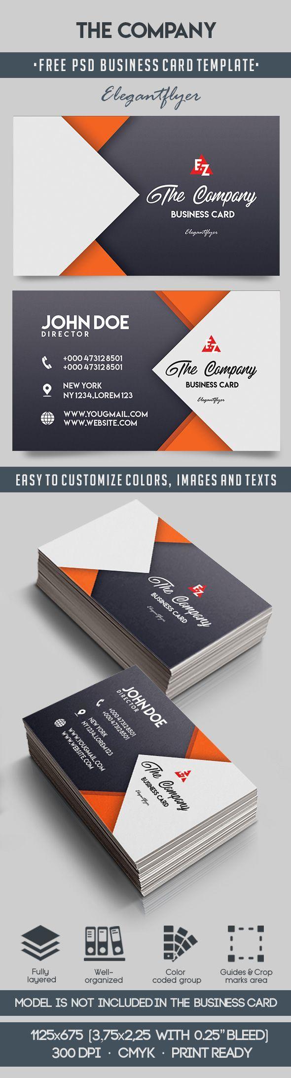 The Company u2013 Free Business Card Templates