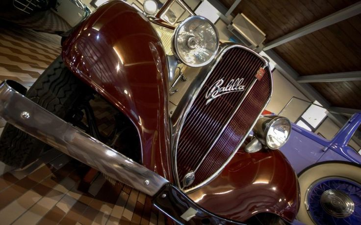 """The famous FIAT 508 Balilla, one of my favourite old cars - """"Maserati's 100 years anniversary: the cars collection of museo Panini"""" by @1step2theleft"""