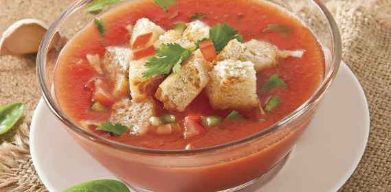 Gazpacho, Tomatoes and Vitamin c on Pinterest