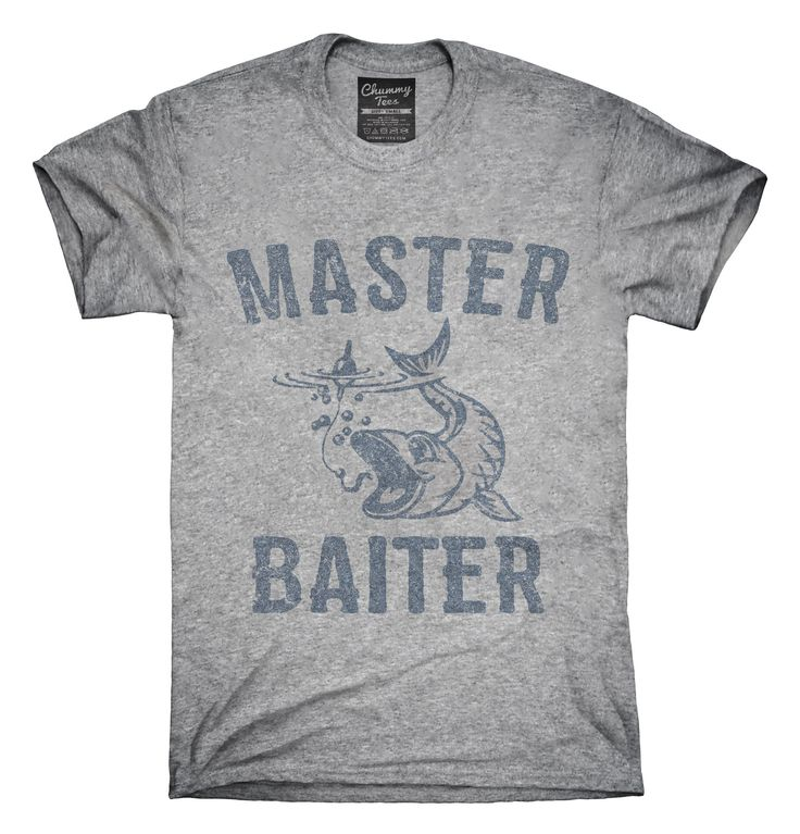 Master Baiter Funny Fishing T-Shirts, Hoodies, Tank Tops