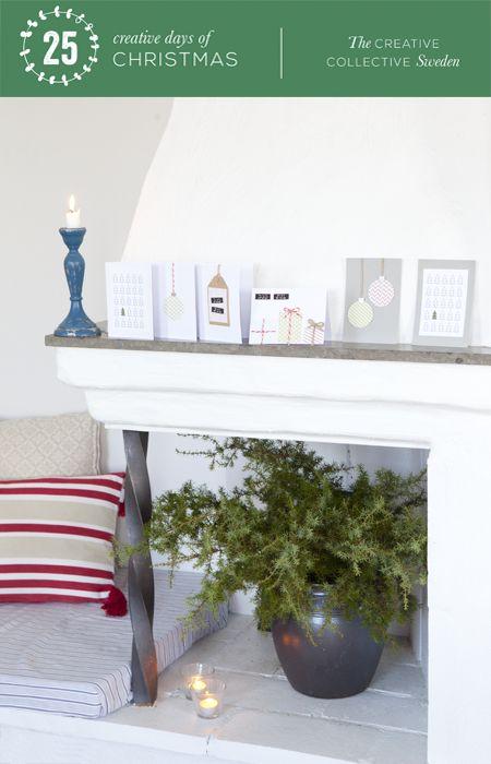 Casa de Hilda: Día 4: Haga sus propias tarjetas de Navidad