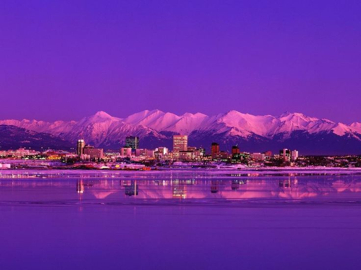 Alaska, it's on my hubby's Bucket List..