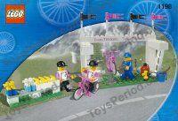 LEGO 1198 Tour De France Promotional Set - Team Telekom Image 1