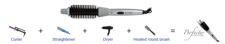 Perfecter Fusion Styler gives your hair bigger and better results than using an unhealthy teasing comb. A must-have, multi-tasker that replaces four tools you're using now. Learn more at: http://www.tryperfecter.com/