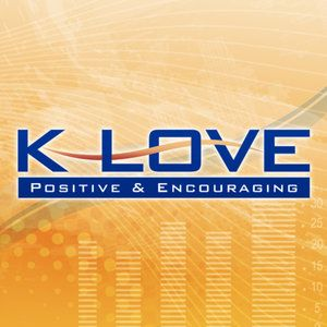 What type of music does K-LOVE radio play online?