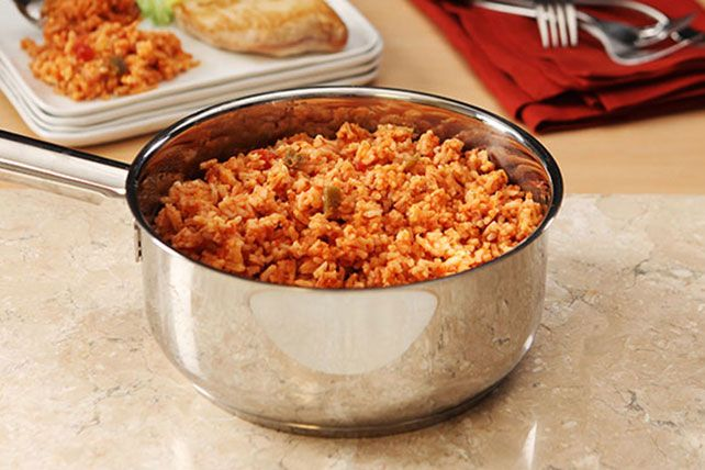 Prepare to be impressed by our 10-Minute Cheesy Mexican Rice Recipe. Seriously, 10 minutes is all you need for this perfectly cheesy Mexican rice recipe.