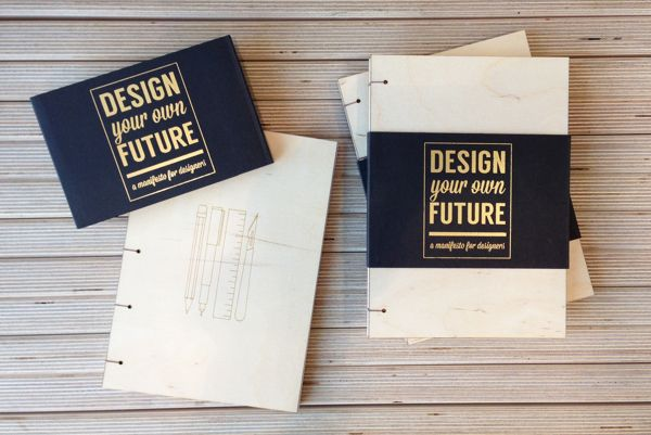Design Your Own Future: A Manifesto for Designers by Alex Fergusson, via Behance