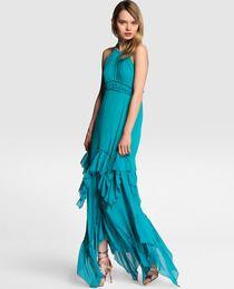 Vestido de fiesta de mujer Formula Joven en turquesa