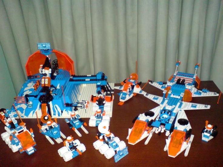 lego ice planet instructions