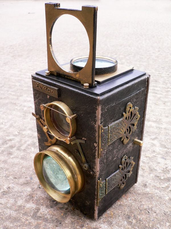 #Steampunk photo camera                                                                                                                                                                                 More