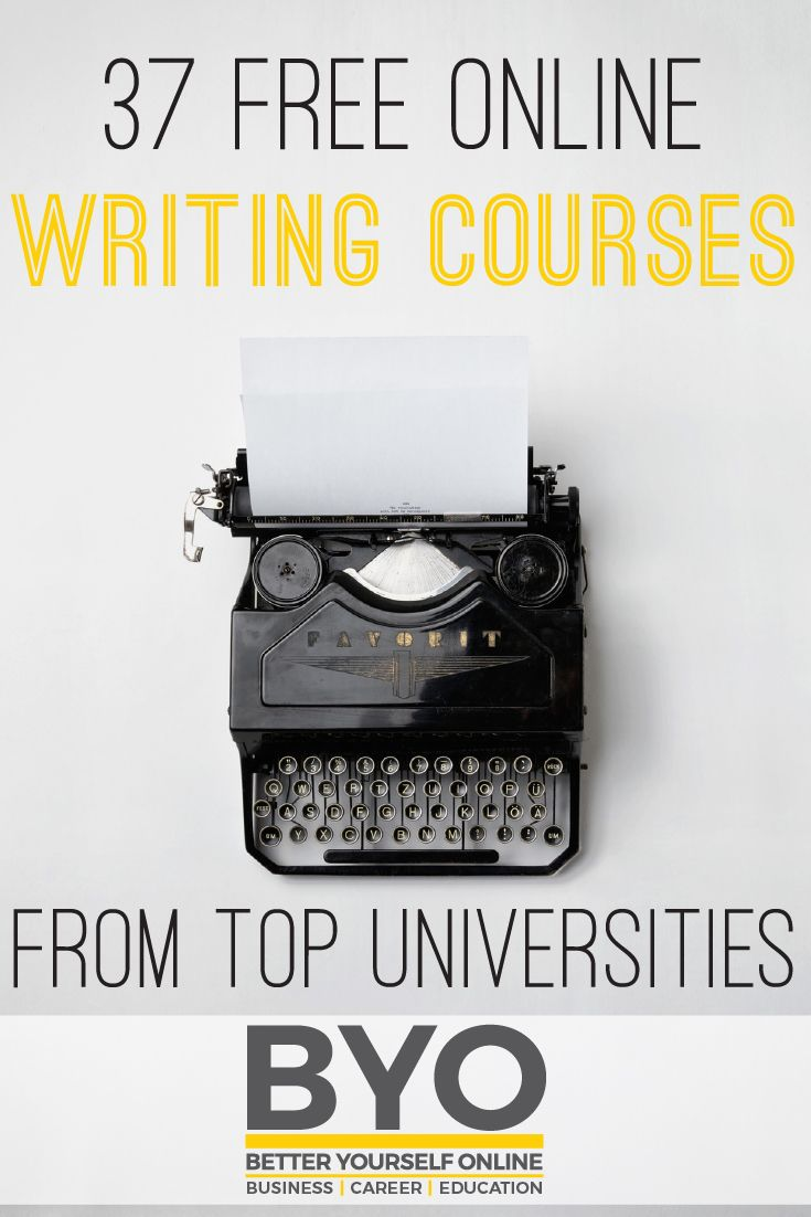 17 best ideas about online writing courses writing 37 online writing courses from top universities