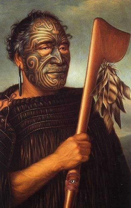 Gottfried Lindauer, Tamati Waka Nene, 1890, oil on canvas