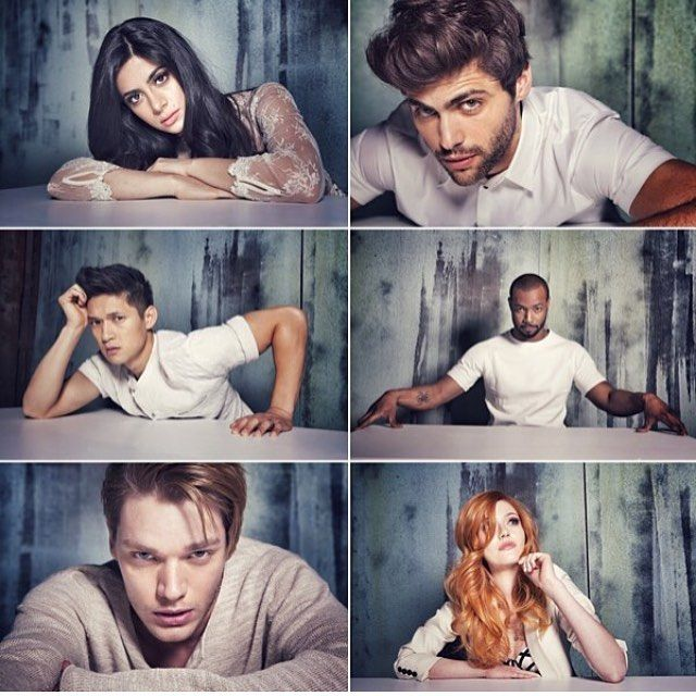 """Shadowhunters; Isabelle """"Izzy"""" Lightwood, Alexander """"Alec"""" Lightwood, Magnus Bane, Lucian """"Luke"""" Graymark, Johnathan """"Jace"""" Wayland Lightwood Morgenstern Herondale and Clarissa """"Clary"""" Morgenstern Fairchild 