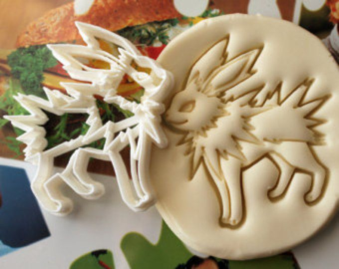 Umbreon Pokemon Cookie Cutter Made From Biodegradable