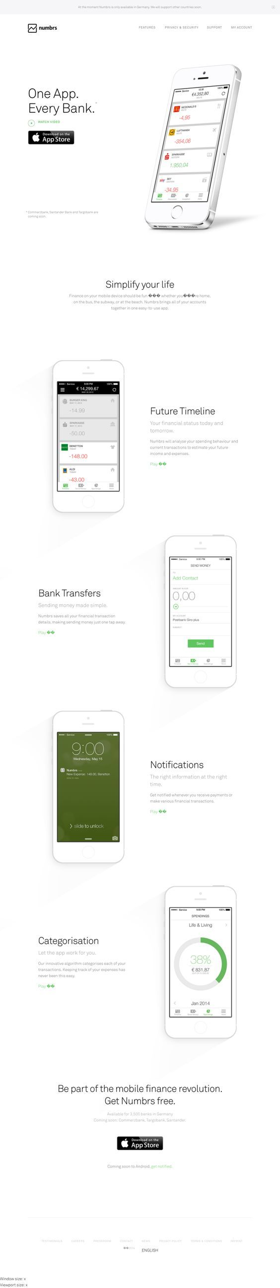mobile banking app: