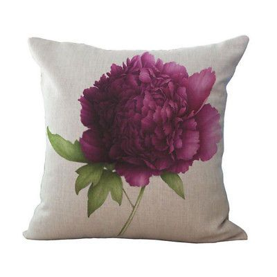 3D-Rose-Peony-Printed-Cushion-Covers-Throw-Pillow-Case-Home-Car-Sofa-Decor-18-039-039