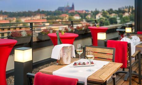 Prag: 1-3 Nächte für 2 Personen mit Fitness und 1x Romantik-Dinner im 4* Vienna House Diplomat Prague  185 Bewertungen  AB  89 €