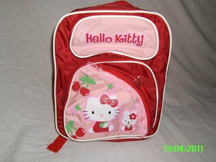 Sac a dos Hello Kitty ref 84
