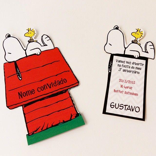 NOVIDADE!! A festa Snoopy faz o maior sucesso entre todas as idades!! Lançamos agora nosso convite Casinha do Snoopy! Chamem seus amigos e vamos fazer uma festa! #snoopy #snoopyparty #festasnoopy #convitesnoopy #convitespersonalizados #festasinfantis #peanuts #peanutsparty
