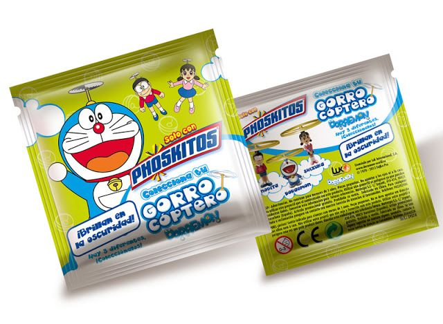 Phoskitos Doraemon on Packaging of the World - Creative Package Design Gallery