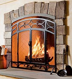 14 best Fire Screens images on Pinterest | Fireplace screens ...
