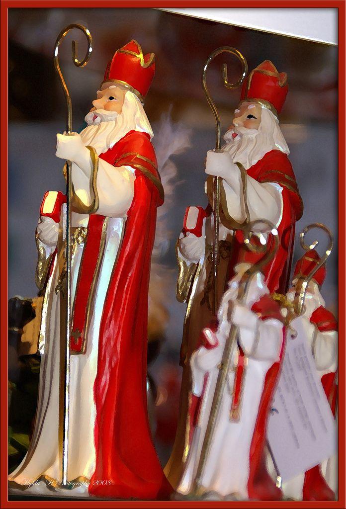 Sinterklaasjes in de etalge