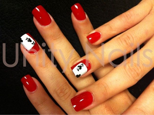 Vegas nails by jeanyeperez from Nail Art Gallery - 25+ Unique Vegas Nail Art Ideas On Pinterest Manicure Games