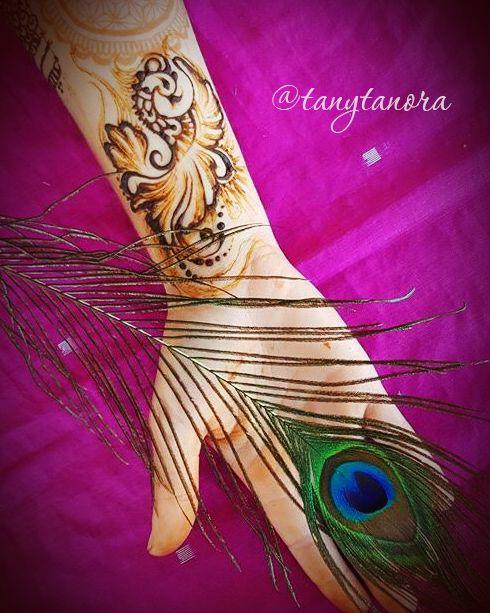 #mehndi #henna #hennaart #mehendi #art #tanytanora #мехенди #росписьхной #хна #павлин #перо