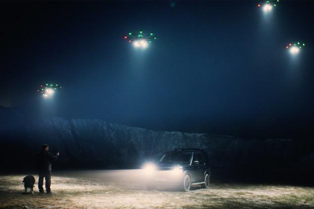Drones Light Your Way Home With Direct Line's Prototype App - Interactive (video) - Creativity Online