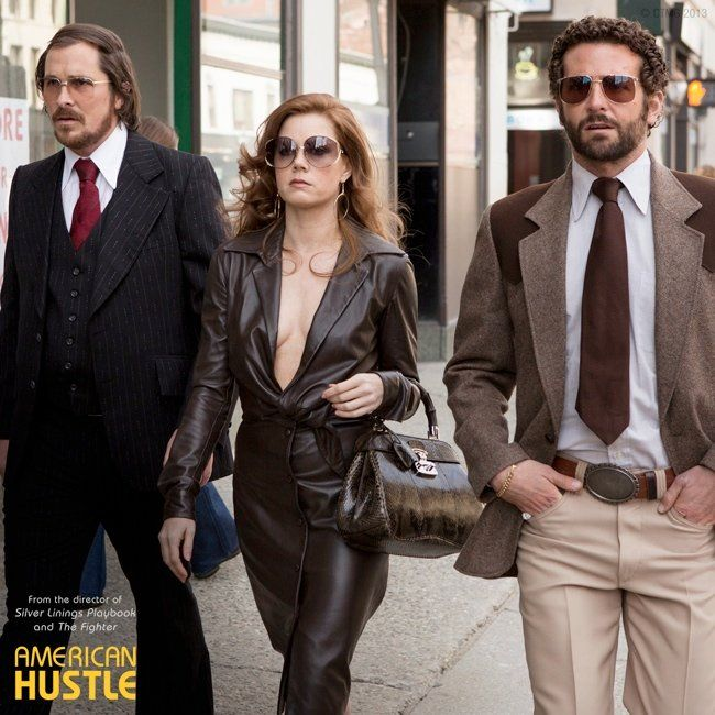 amy leather jumpsuit 70s Glam: Fashion Inspired by American Hustle Film