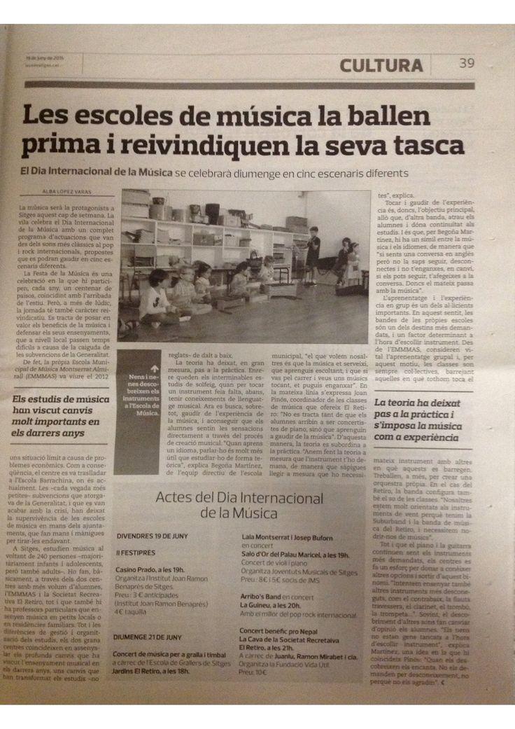 L'Eco de Sitges (19.06.2014)