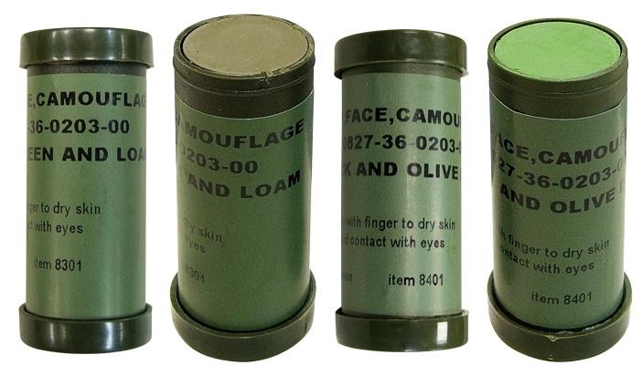 NATO Camouflage Face Paint Sticks