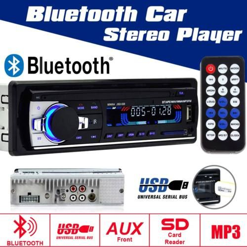 US-Deals Cars 12V FM Car Stereo Radio Bluetooth In Dash Handsfree SD/USB AUX Head Unit: $18.89 End Date: Sunday Apr-1-2018…%#USDeals%